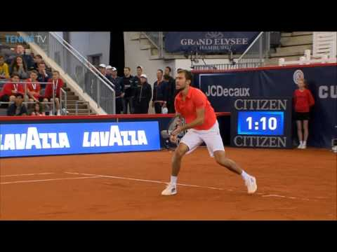 Janowicz Holds Firm In Hamburg Hot Shot
