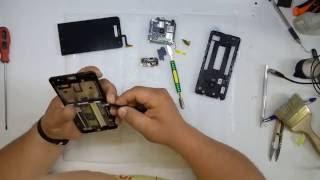 Замена модуля экрана на ASUS Zenfone 5