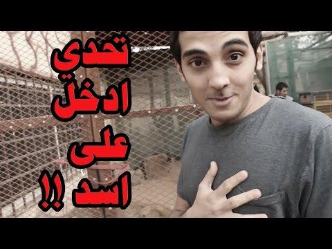 تحديات - تحدي ادخل على اسد + (ضباع مفترسة) !!! | FIFA15