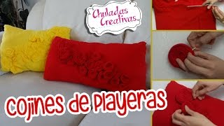getlinkyoutube.com-Chuladas Creativas :: Cojines con Playeras :: Manualidades Sammily