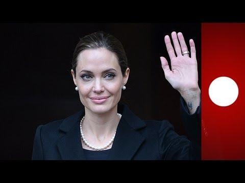 Angelina Jolie se sometió a una ablación de los senos para prevenir un cáncer