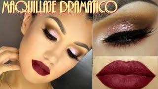 getlinkyoutube.com-Look Dramatico Labios Rojos / Dramatic Makeup Red Lips  - @auroramakeup