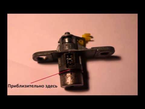 Ремонт личинки замка багажника Lancer X