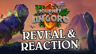 Journey to Un'Goro Reveal & Reaction - Hearthstone