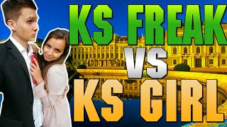 getlinkyoutube.com-KSFREAK VS KSGIRL #4 | Extrem Schmerzhafte Challenge!!!