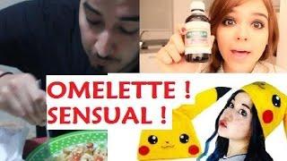 getlinkyoutube.com-Cuídense Yuya y Miumiku Miau -Como hacer un Omelette orgasmeante -Tutorial