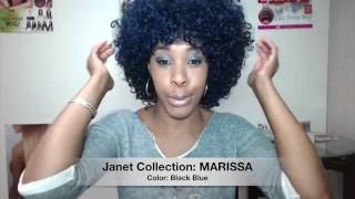 getlinkyoutube.com-Janet Collection Synthetic Wig - MARISSA --/ WigTypes.com Hair Company Review