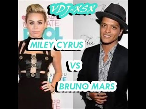 Miley Cyrus Wrecking Ball vs Bruno Mars Locked out of heaven by VDJ-XSX