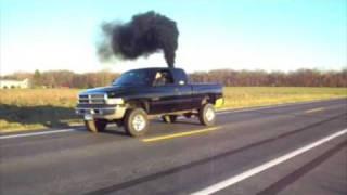 getlinkyoutube.com-Diesel Burnout Compilation