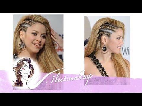 Trenzas laterales de Shakira-Pedido Debora y Moctezuma