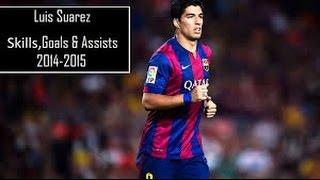 getlinkyoutube.com-Luis Suárez-Best Goals & Dribbling Skills 2014-2015