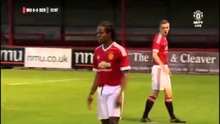 getlinkyoutube.com-Manchester United U18s 3-2 Derby U18s (first half)