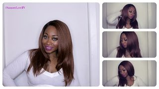 getlinkyoutube.com-Outre Natural Yaki 18 Lace Front Wig