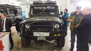 UAZ Hunter 4x4 Off-road tuning