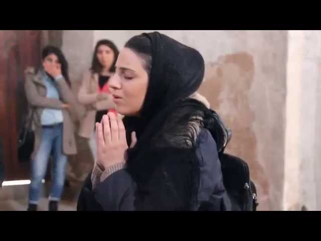 Young Armenian Woman Sings Haunting Prayer in Former Cathedral