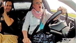 Mom DRIVES the 900hp 3Dx Evo!!! width=