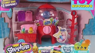 getlinkyoutube.com-Shopkins Sweet Spot Food Fair Toy Review Unboxing | Surprise Toys | PSToyReviews