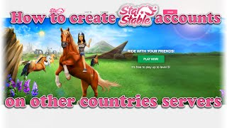getlinkyoutube.com-How to Create Star Stable Accounts on OTHER COUNTRIES Servers