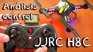 getlinkyoutube.com-ANALISIS DEL CONTROL DEL JJRC H8C DEL DRONE EN ESPAÑOL: ¿mejor calidad precio que el syma x5c?