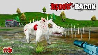 getlinkyoutube.com-Blood and Bacon прохождение САМЫЙ ЖИВУЧИЙ КАБАН! (5 серия)