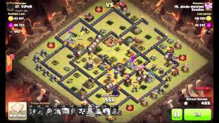 getlinkyoutube.com-Clash Of Clans  - TH10 5 Lightning Spells, Earthquake zap, New 3 Stars Strategy!