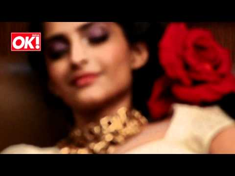 Behind the Scenes with Sonam  Kapoor for OK! India- Making of the Fairytale Photoshoot