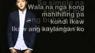 Simpleng Tulad mo - Daniel Padilla (Lyrics)