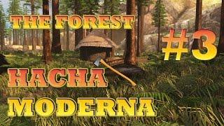 getlinkyoutube.com-The forest #3 - Localización Hacha Moderna - Modern Axe 0.48 !! 2016
