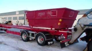 getlinkyoutube.com-Kombinerad 4-axlad lastväxlare & liftdumpervagn