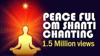 Om shanti chanting  -  peaceful  music for meditation width=