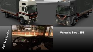 getlinkyoutube.com-[ETS2 v1.21] Mercedes 1853 - Edit by Ekualizer