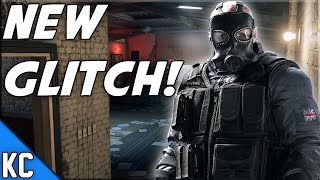 getlinkyoutube.com-Rainbow Six Siege NEW Glitch! Oregon Hiding Spot!