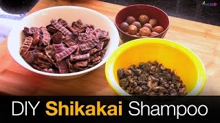 getlinkyoutube.com-Shikakai Shampoo | Hair Growth Shampoo  - DIY