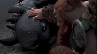 getlinkyoutube.com-HTTYD: Second Time Toothless Saves Hiccup (Most of Him)