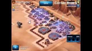 Star Wars: Commander - Defeating Corner Base Layouts