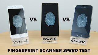 getlinkyoutube.com-iPhone 6s vs Xperia Z5 vs Galaxy S6 - Fingerprint Scanner Speed Test