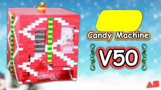 LEGO Christmas Candy Machine | Milk & Cookies