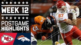 getlinkyoutube.com-Chiefs vs. Broncos (Week 12) | Game Highlights | NFL
