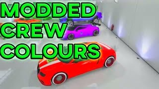 getlinkyoutube.com-GTA 5 Paint Jobs - RARE PAINT JOBS ONLINE! Modded RGB Crew Colors/Paint Jobs (GTA 5 Paint Jobs)