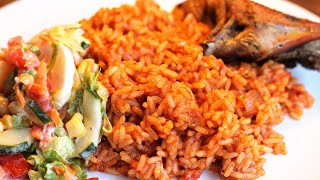getlinkyoutube.com-Nigerian Party Jollof Rice | All Nigerian Recipes