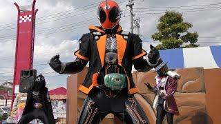getlinkyoutube.com-「仮面ライダーゴースト」ショー 2015.10.12 Kamen Rider Ghost Show