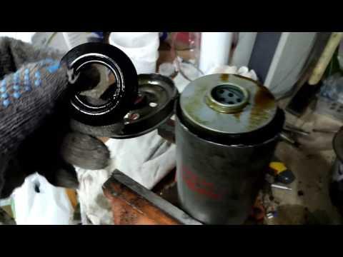 Вскрытие масляного фильтра Ashika10-03-397