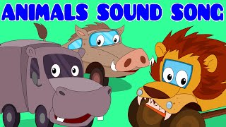 getlinkyoutube.com-Animals Sound Song | Car Rhyme | Songs For Kids