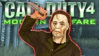 getlinkyoutube.com-CoD4 MIKE MYERS #1 with The Sidemen (Call Of Duty 4 Michael Myers)