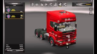 getlinkyoutube.com-Euro Truck Simulator 2 HD Scania 4 v1.5