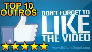getlinkyoutube.com-(BEST) Top 10 FREE Outro Templates - SONY VEGAS, AFTER EFFECTS, CINEMA 4D