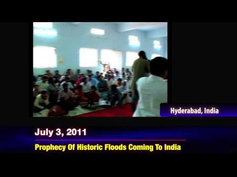 HISTORIC KILLER FLOODS RAVAGE NOTHERN INDIA - PROPHET DR. OWUOR