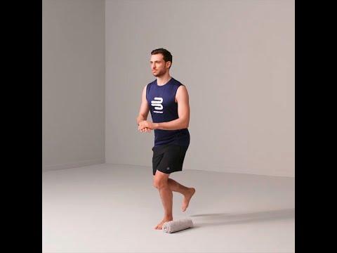 Knieübungen - Pendelsprung (Side Hop)