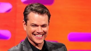 getlinkyoutube.com-Matt Damon controls the red chair - The Graham Norton Show: Episode 16 - BBC One