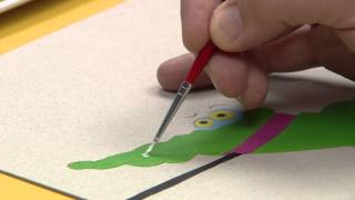 Art attack - Tableau Surprise - Sur Disney Junior !